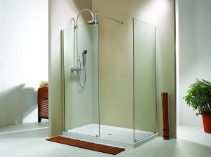 "Evolution 6' 2"" Panel Walk-In Shower"