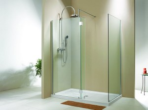 "Evolution 6' 3"" Panel Walk-In Shower"