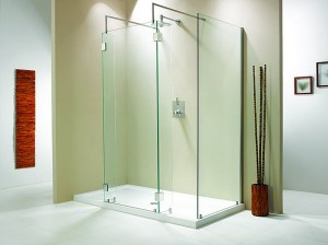 "Evolution 6' 4"" Panel Walk-In Shower"