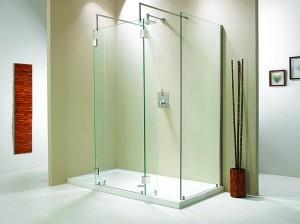 "Evolution 6' 4"" Panel Walk-In Shower"