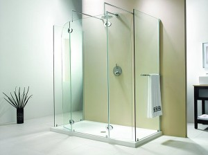 "Evolution 6' 5"" Panel Round Model Walk-In Shower"