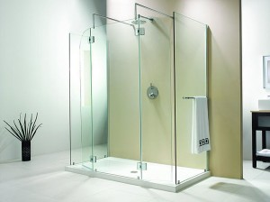 "Evolution 6' 5"" Panel Square Model Walk-In Shower"