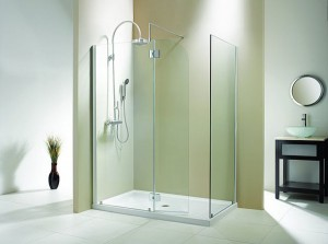 "Evolution 5' 3"" Panel Walk-In Shower"