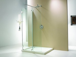 "Evolution 6'4"" One Wall 3 Panel Walk-In Shower"