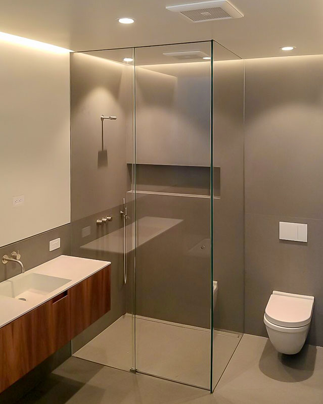 Interior Architectural Glass Back Painted Glass For Homes